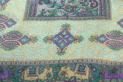 Foulard Gamme Traditional de Soie Motif Rei Grey de Pashmina & Silk