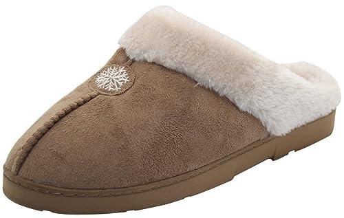 scarpe da ginnastica a buon mercato dettagli per tecnologia avanzata Calde ciabatte, sabò da interno, da donna, con pelo in finta pelliccia, con  tacco