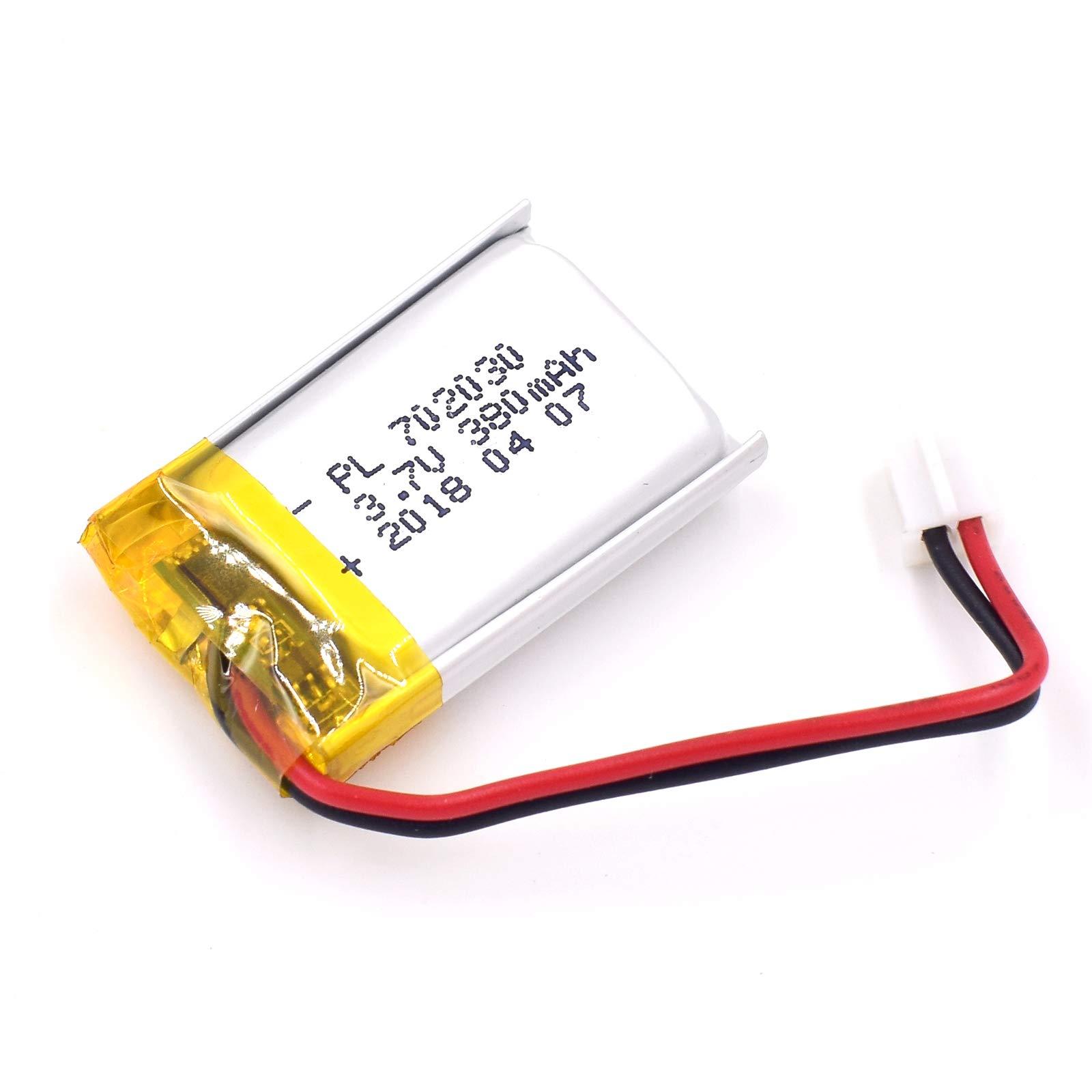 Bateria Lipo 3.7v 380mah 702030