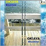 OKIAYA COMPOSIT 50-80LB ''BLUELINE SERIES'' SALTWATER BIG GAME ROLLER ROD SET OF 2