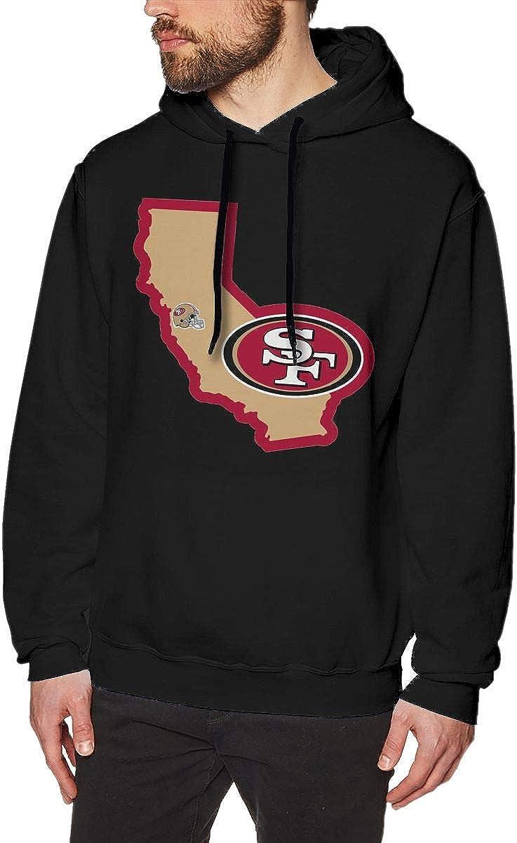 VF Mans Fashion Drawstring No Pocket Hooded Sweatshirts San Francisco 49ers