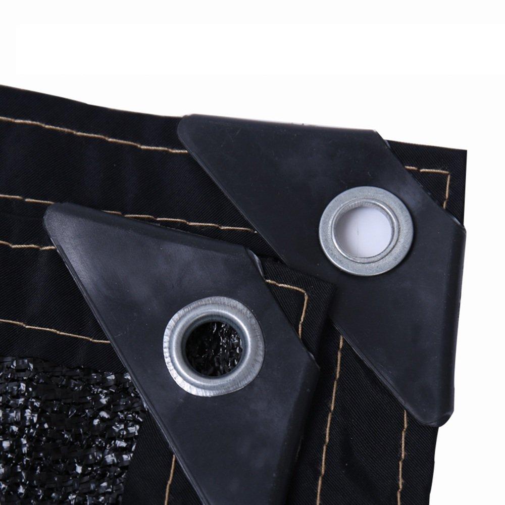 HUO Larghezza Resistente Ai Raggi UV 2m del Panno Dell'ombra di Sunblock Dell'ombra della Maglia di Sun di 90% (colore   Nero, Dimensioni   6.5'x20')