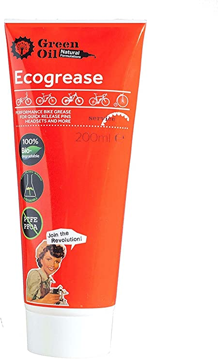 GREENOIL Aceite Verde - Ecogrease Best & Long Lasting Grasa para ...