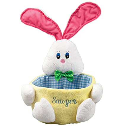 Amazon miles kimball personalized easter basket home kitchen miles kimball personalized easter basket negle Image collections