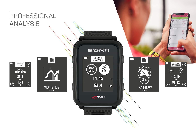 Sigma Sport ID.Tri Basic Reloj de triatlón GPS, Unisex-Adult ...