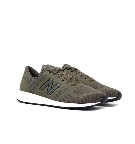New Balance 420 Hombre Zapatillas Khaki: Amazon.es: Zapatos y complementos