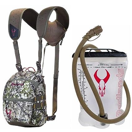 Óptica Badlands Bino X backpack-friendly prismáticos – Arnés para enfoque W. 1L interior