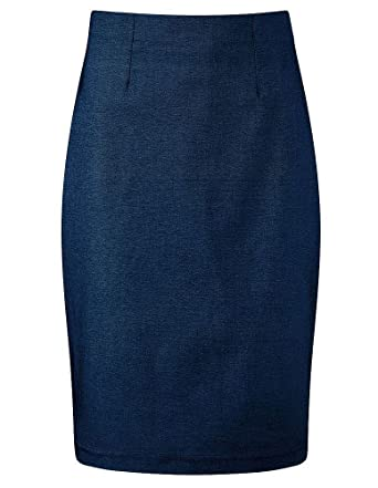 4directuniforms-Banner - Falda - Básico - para niña Azul azul ...