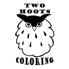 Two Hoots Coloring