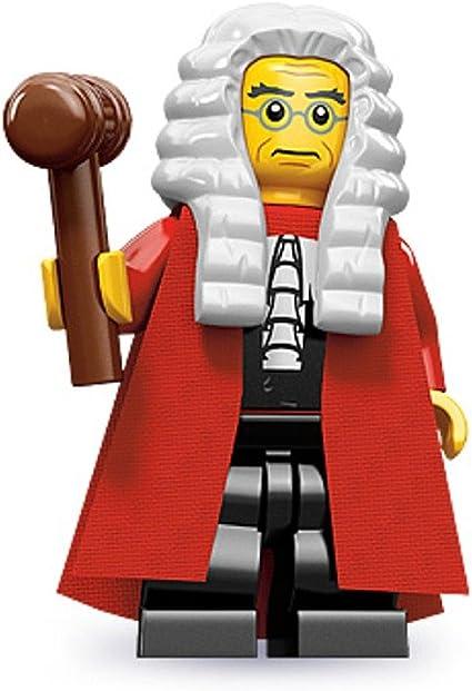 NEW Lego 71000 Minifigure Series 9 Judge NEW