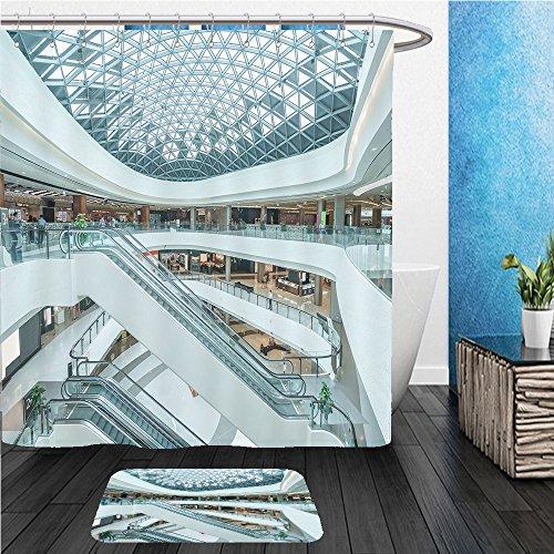 Beshowereb Bath Suit: ShowerCurtian & Doormat interior of modern shopping mall - Chicago Shopping Malls