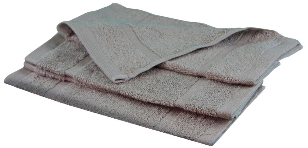 Gozze Sylt - telo doccia (4 unità), di cotone riccio, naturali, 30 x 30 cm Gözze 7881-75-A2