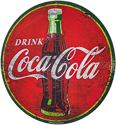 Officially Licensed Drink Coca Cola Metal Sign Wall Decor
