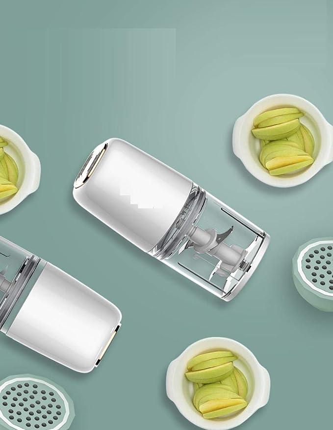 Complemento alimenticio para bebés mini máquina de cocina casera MFP rectificadora automática-Blanco: Amazon.es: Bebé