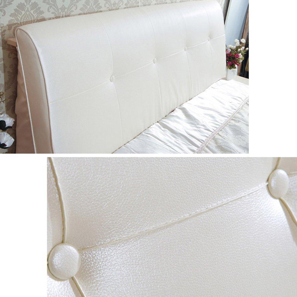 WENZHE Kopfteil Kissen Bett Rückenkissen Rückenlehne Für Bett Bettkeile  Keilkissen Palettenpolster Softcase Kissen Zuhause Sofa Schlafzimmer