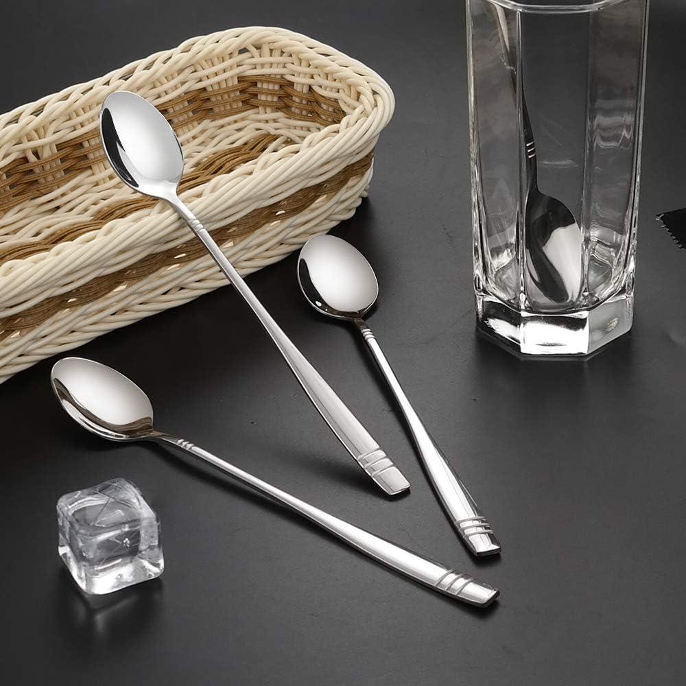 Obston 12 Pieces Stainless Steel Demitasse Espresso Spoons