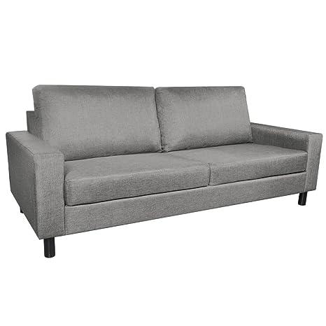 Amazon Com Vidaxl 3 Seater Sofa Couch Seats Living Room Seating