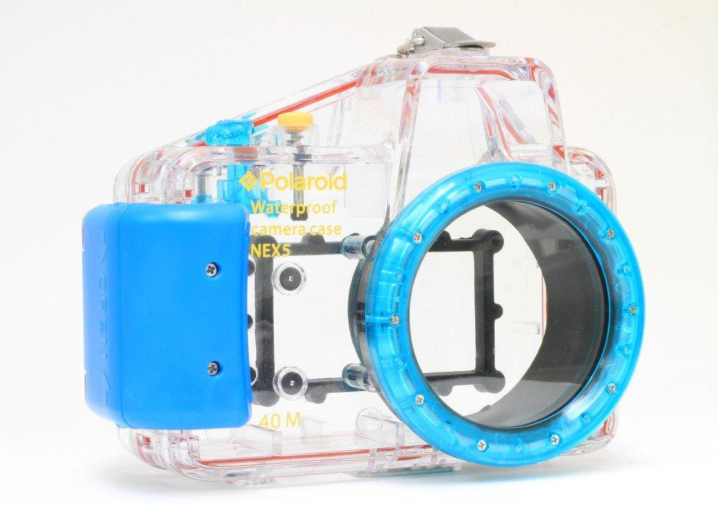 ポラロイド ダイビング定格 完全防水 水中カメラケース (Sony Alpha NEX-5N 16mm デジタルカメラ用) 16mm  B008JG348W