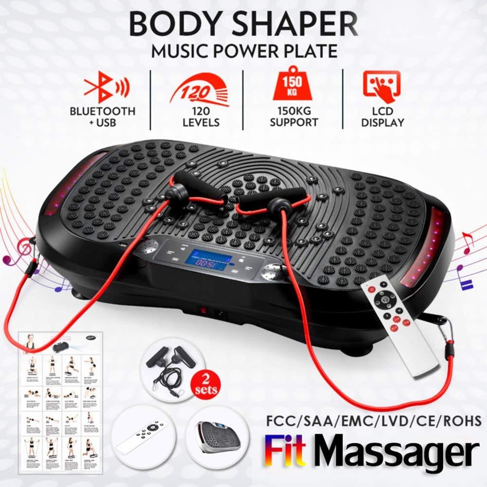 Plataforma de vibración de fitness música de Bluetooth Wholebody ...