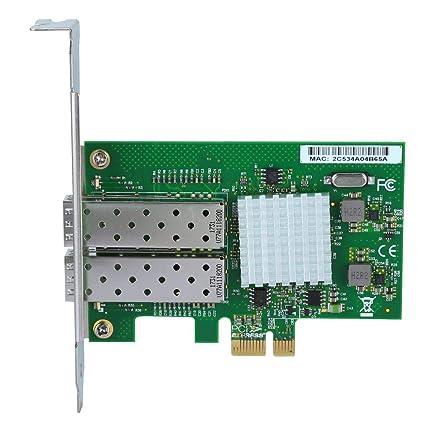 Denash Tarjeta de Red Gigabit Dual, para Chip Intel 82576 ...