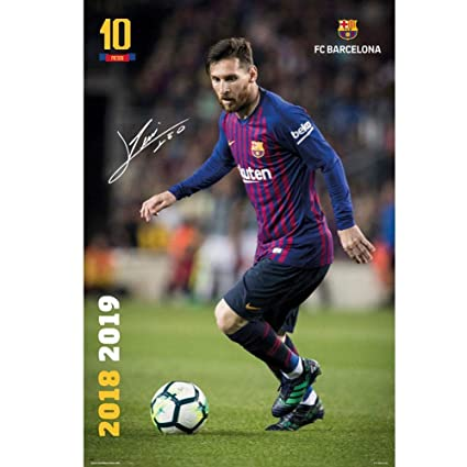 5a6108b0e Image Unavailable. Image not available for. Color  FCB Poster FC Barcelona  ...