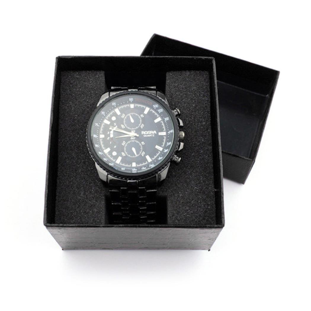 START Black Crocodile Durable Present Gift Box Case For Bracelet Bangle Jewelry Watch Box by Start (Image #2)