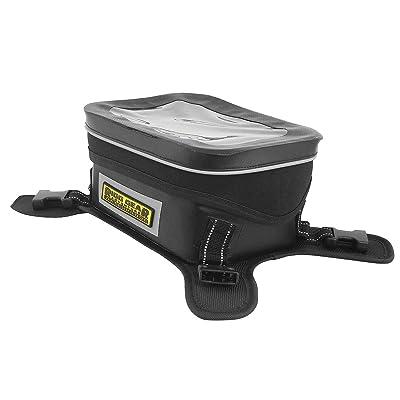 Nelson-Rigg SE-3060 Black/Grey Hurricane Dual Sport/Enduro Waterproof Tank Bag: Automotive