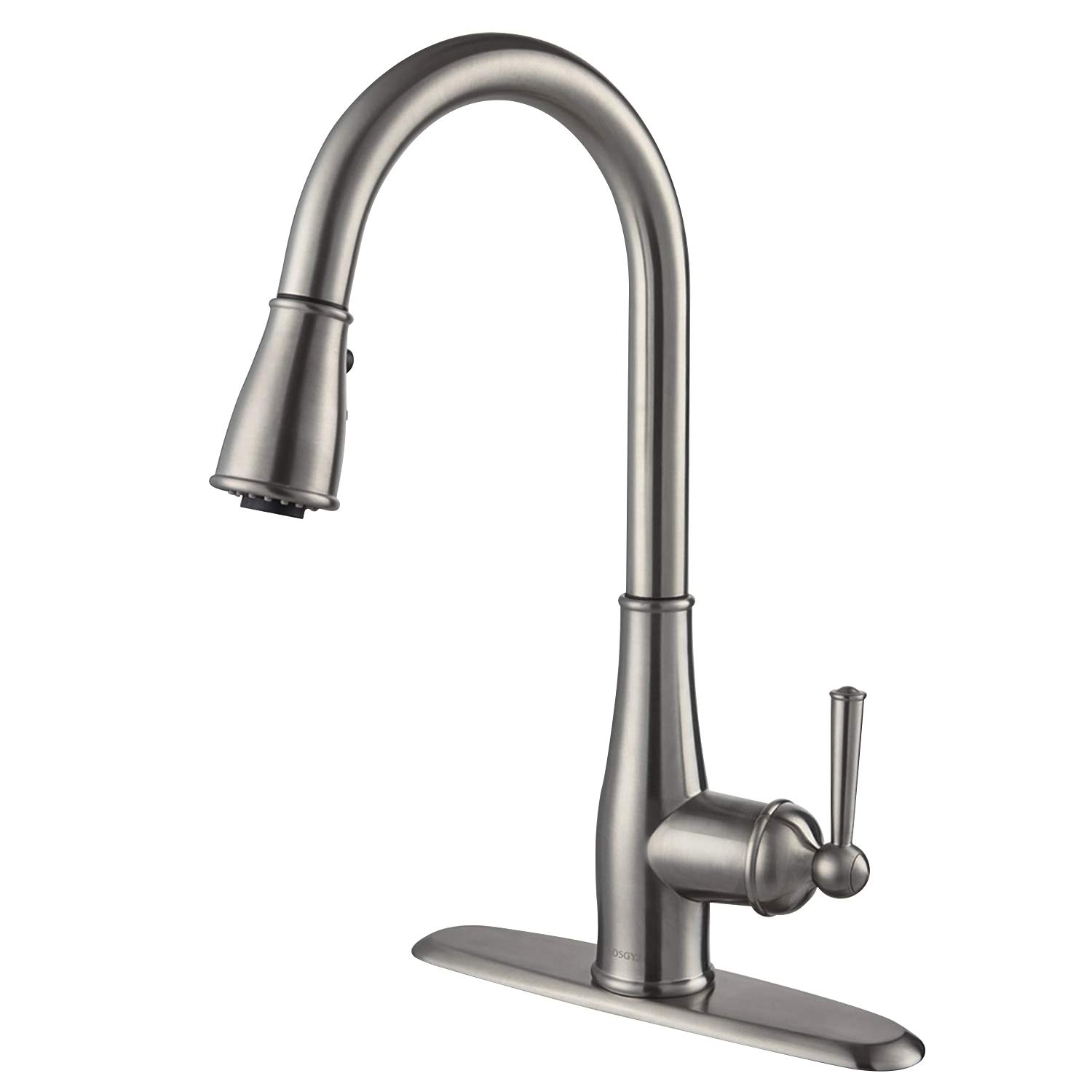 Moen 7295C Brantford One-Handle Pullout Kitchen Faucet Featuring Power Clean and Reflex, Chrome