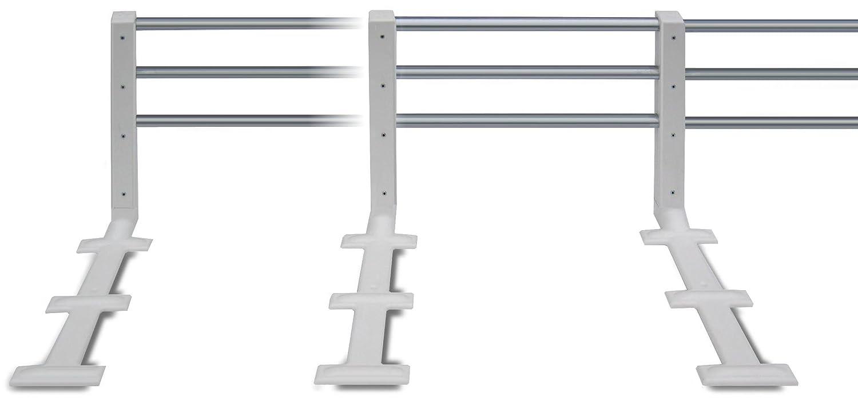Reer Bettgitter 4504  ausziehbar /& höhenverstellbar weiß