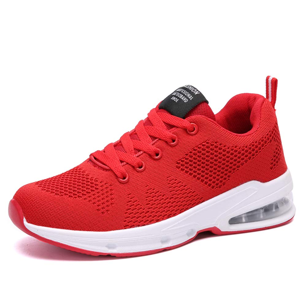 Chaussures Courses Femme Trainer Air Maille Sneaker Sports Fitness Confort Basket Trail Running Jogging Léger Absoba Chocs Noir Rouge Bleu 35-42