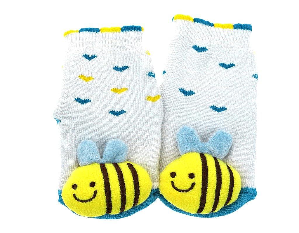 BONAMART Newborn Baby Kids Girls Boys Tube Thick Socks 3D Cartoon