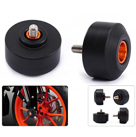 Amazon.com: Front and Rear Fork Wheel 4pcs Frame Sliders for KTM ...
