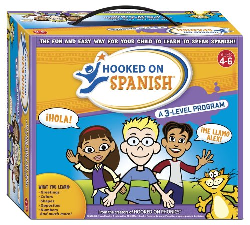 (Hooked on Spanish Box Set, Ages 4-6)