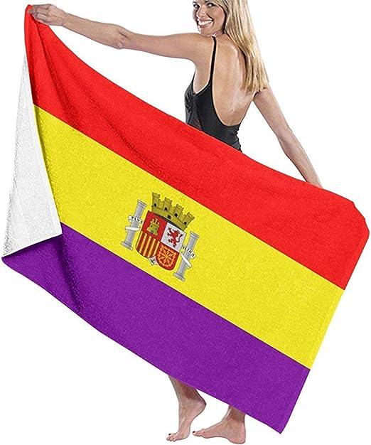 Beyond Loser Segunda Bandera De La República Española Piscina De Microfibra Toalla De Playa Manta Toalla De Baño De Secado Rápido Toallas De Surf,130X80 CM: Amazon.es: Hogar