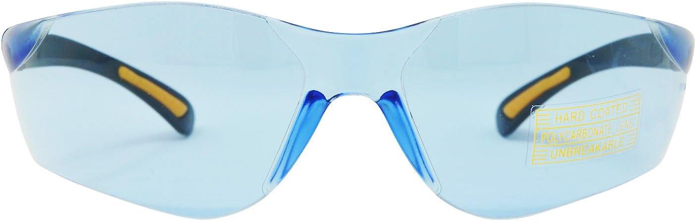 Viwanda Sportbrille mit blauen Gl/äsern