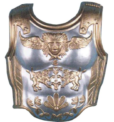 Silver & Gold Gladiator Chest Armor (Gladiator Costumes For Women)