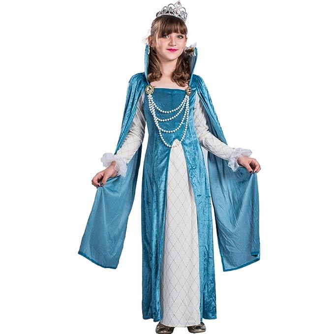 EraSpooky Vestido Lujo de Princesa Renacimiento Reina para ...