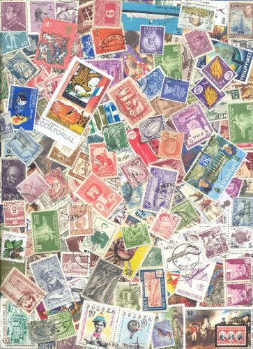 Lot of 150 Worldwide Collectible Stamps - All Different