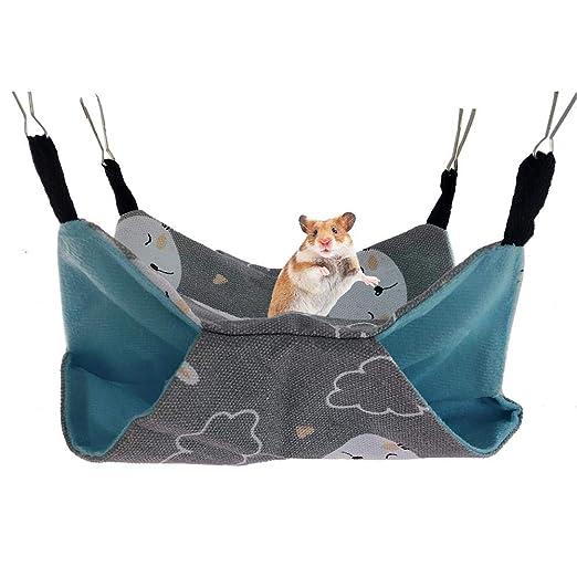 LeKing Mascotas Hamacas Colgando Cama Nido Hamsters Hurones Hamaca ...