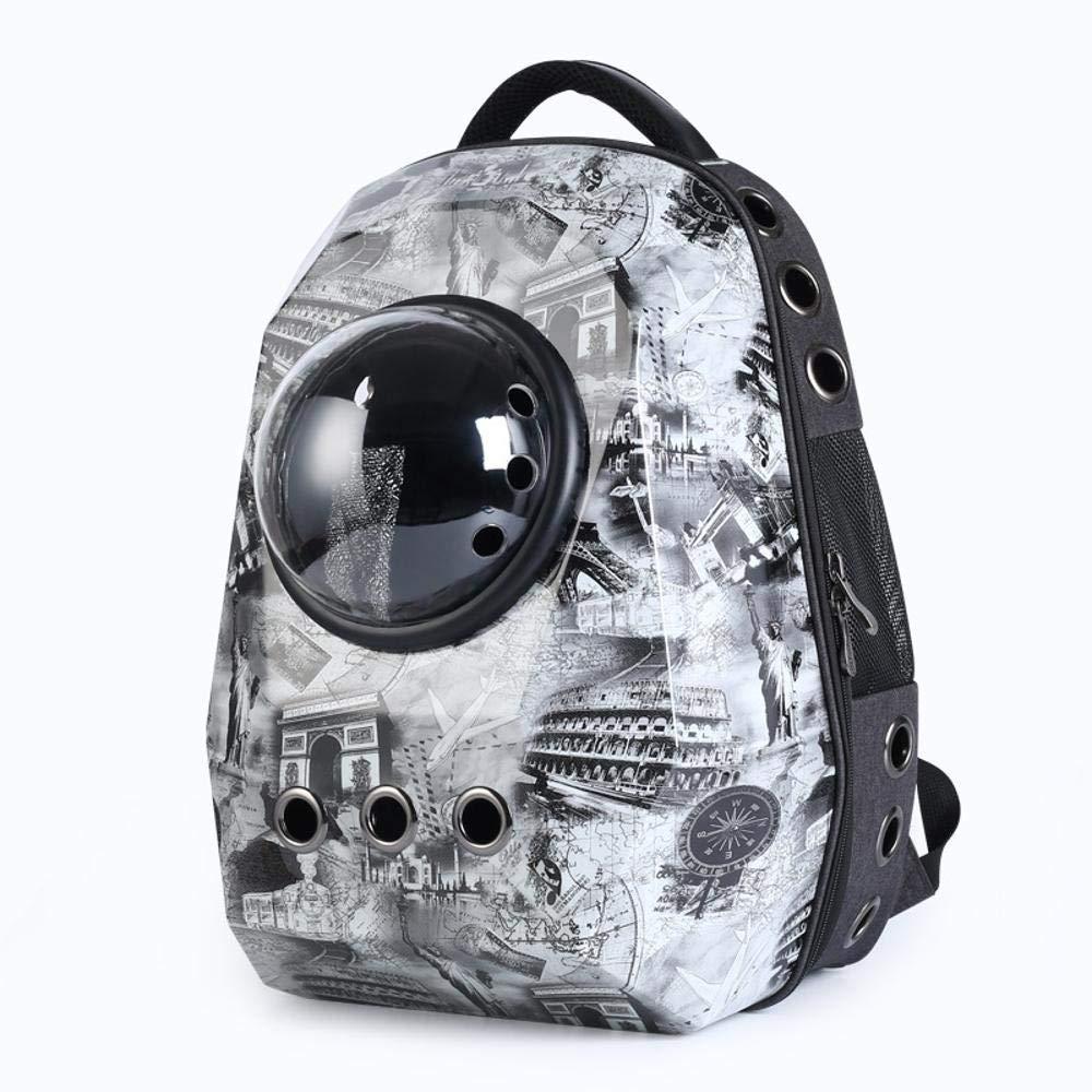 C Cat Scratcher Cardboard Pet Backpack Out Carrying Bag cat Bag pet Backpack Bag Bag pet Transport Bag Suitable for About 4-6 kg pet Cat Scratcher Toy (color   C)