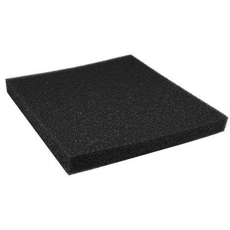 Filtro de Esponja de carbón Activado 50x50x4cm para acuarios y estanques