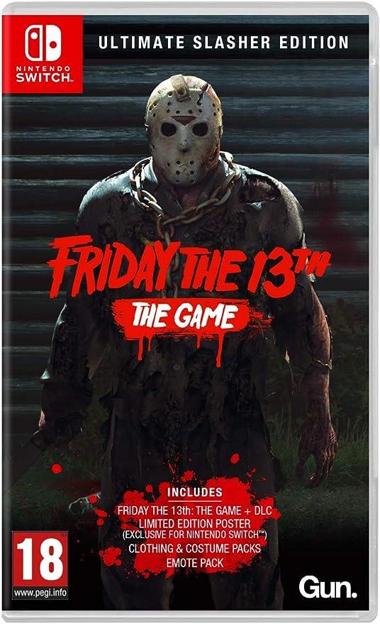 Friday the 13th: The Game - Ultimate Slasher Edition - Nintendo Switch [Importación inglesa]: Amazon.es: Videojuegos
