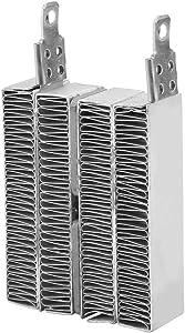 Electric PTC Heater Ripple Heating Element Heater Kit Thermostatic Insulated PTC Ceramic Air Heater(70W/150W)(12V 70W)