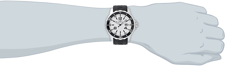 Amazon.com: Invicta Mens 16728 SPECIALTY Analog Display Japanese Quartz Black Watch: Invicta: Watches