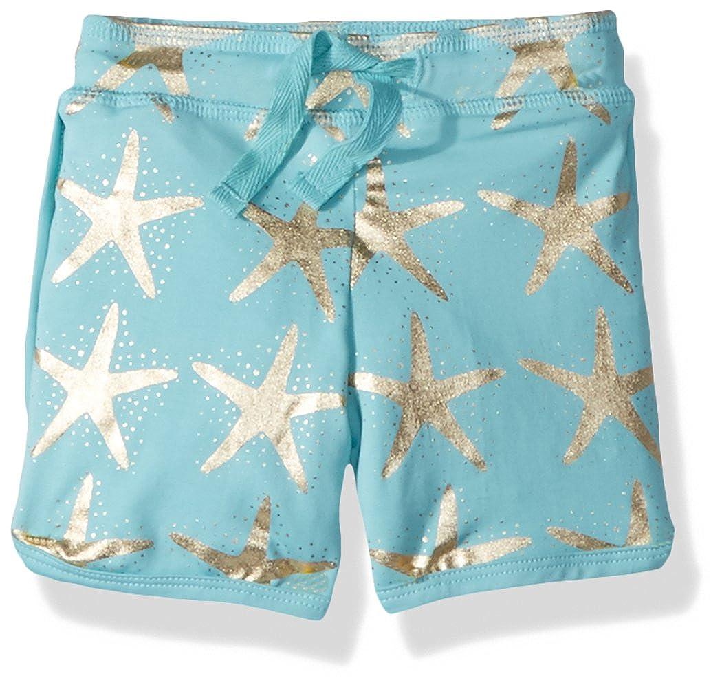 d813c1e6d03af Amazon.com: Masala Baby Baby Boys Swim Shorts Starfish Turquoise: Clothing