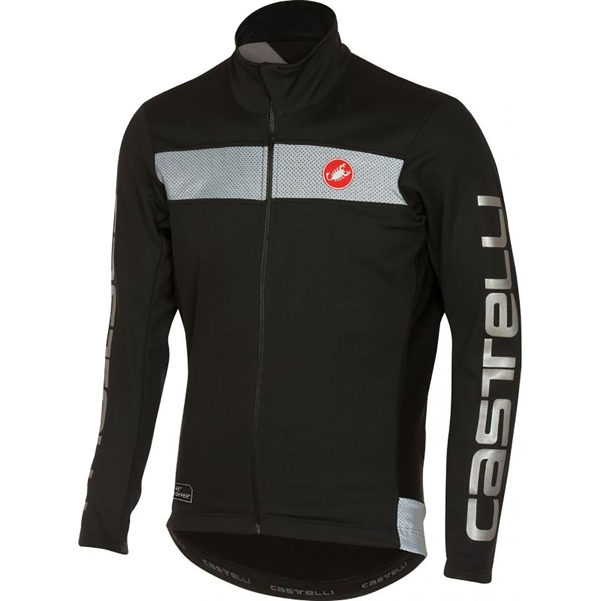 Castelli Raddoppia Jacket - Men's Black, M