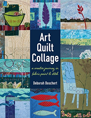 Art Quilt Collage Creative Journey ebook product image
