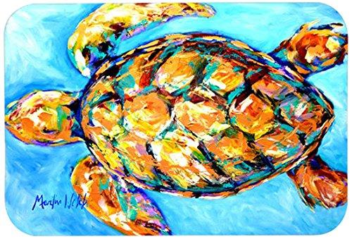 Caroline's Treasures MW1150JCMT''Sand Dance Turtle'' Kitchen or Bath Mat, 24'' by 36'', Multicolor
