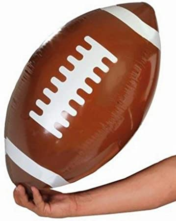 Guirca - Balón de rugby hinchable: Amazon.es: Juguetes y juegos