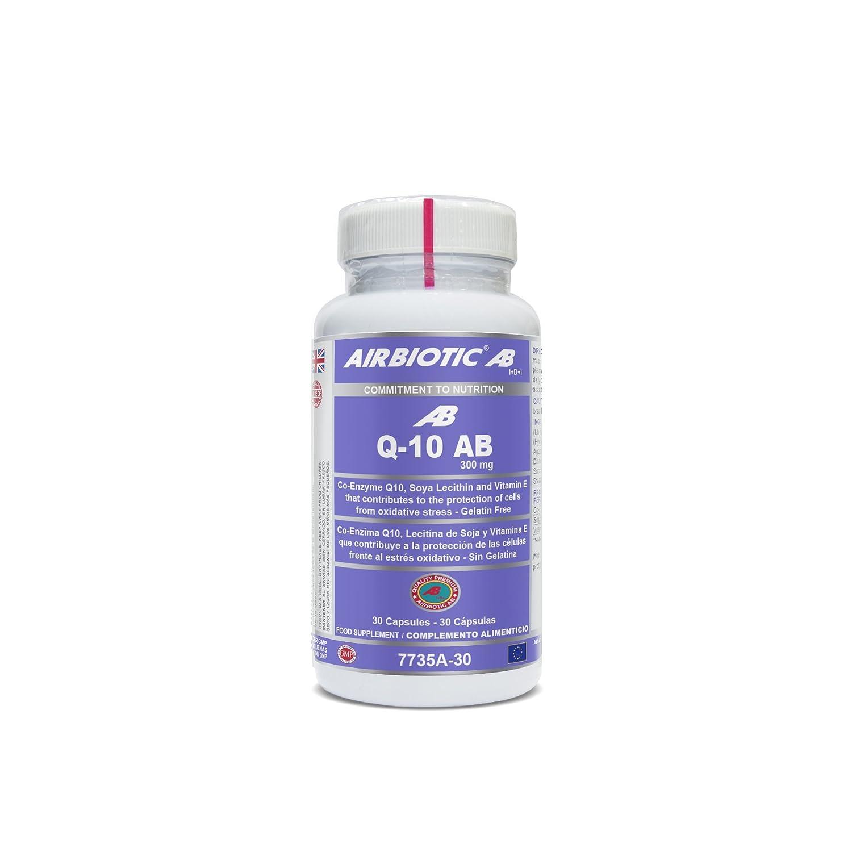 Airbiotic AB - Co-Enzima Q10 300 mg - Multinutrientes, Coenzima Antioxidante: Amazon.es: Salud y cuidado personal